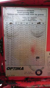 OPTIMA - аналог оригинального датчика высева