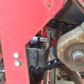 Ника 6, ВЕЛЕС-АГРО, RECORD, FS38, система контроля высева, зерновая сеялка, пневматика. Датчики семян, на забивание