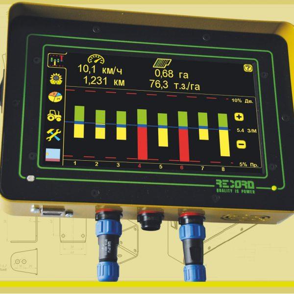 Экран систем контроля высева «Record» для сеялок точного высева