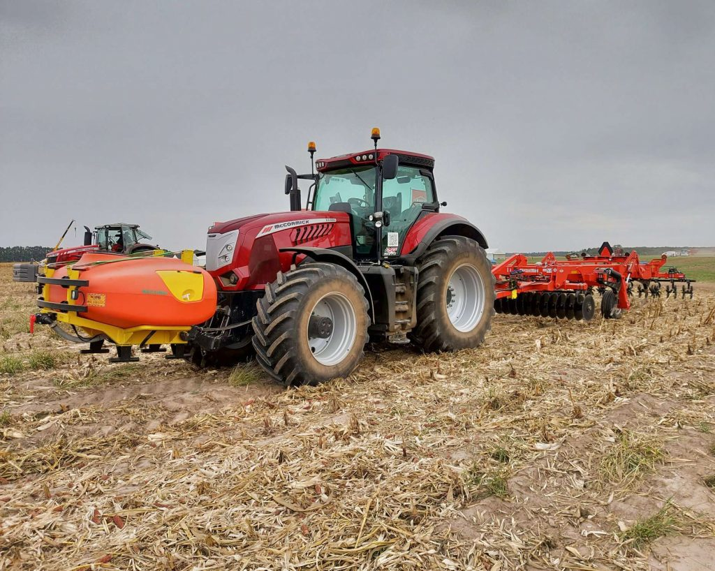 УКАБ Агротехнології, ТОВ ТРАК, внесення РКД