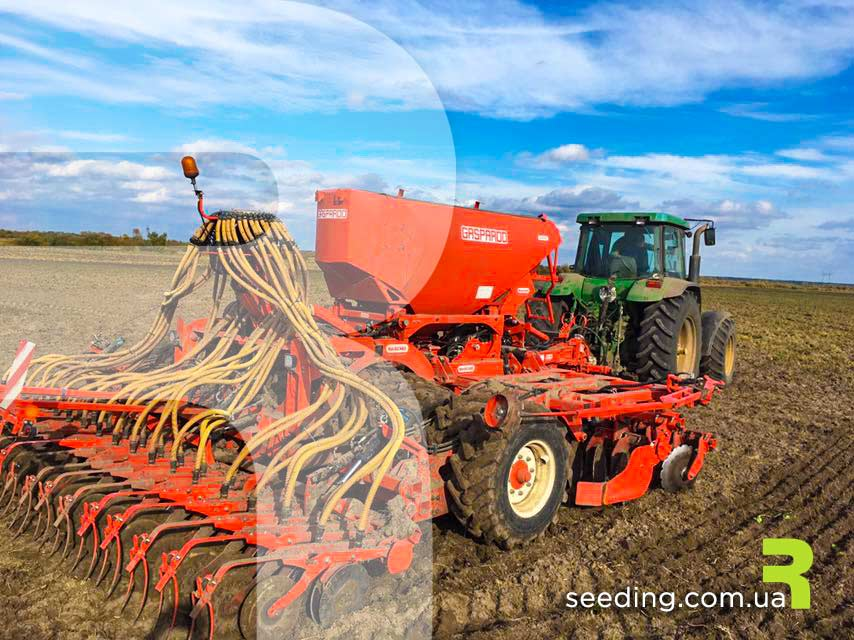 """Датчики контроля высева, Система контроля высева, Система для сеялок точного высева, СКВ «Record», ООО """"Трак"""" электроника для сельского хозяйства. Установка датчика высева на семяпровод. Монтаж и установка системы контроля высева"""