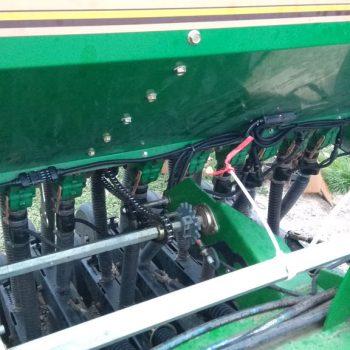 great plains 3s 4000, RECORD, FS38, система контроля высева, зерновая сеялка, механическая, Датчики семян, на забивание